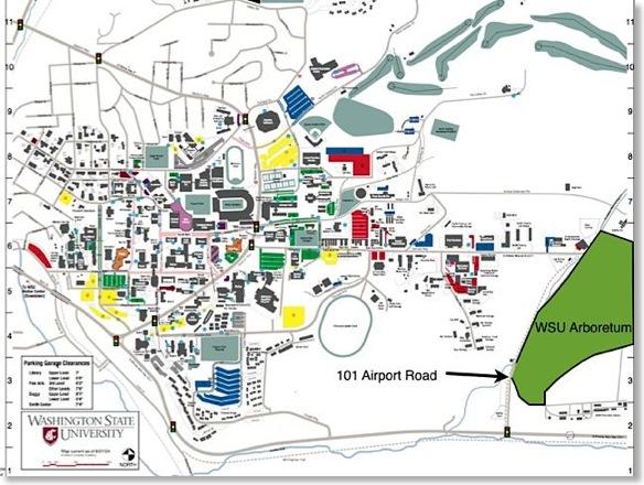 Washington State University Pullman Campus Map Parking Www